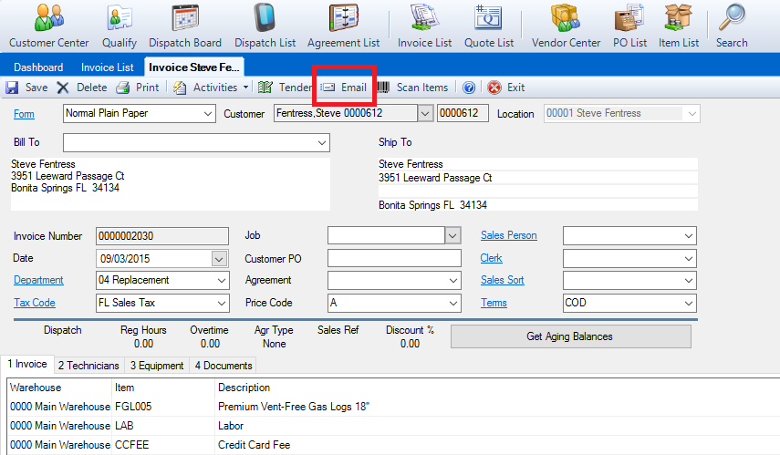 Emailing Invoices And Quotes DESCO Support - How to send quotation email to customer
