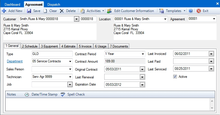 How Do I Create A New Service Agreement Desco Support