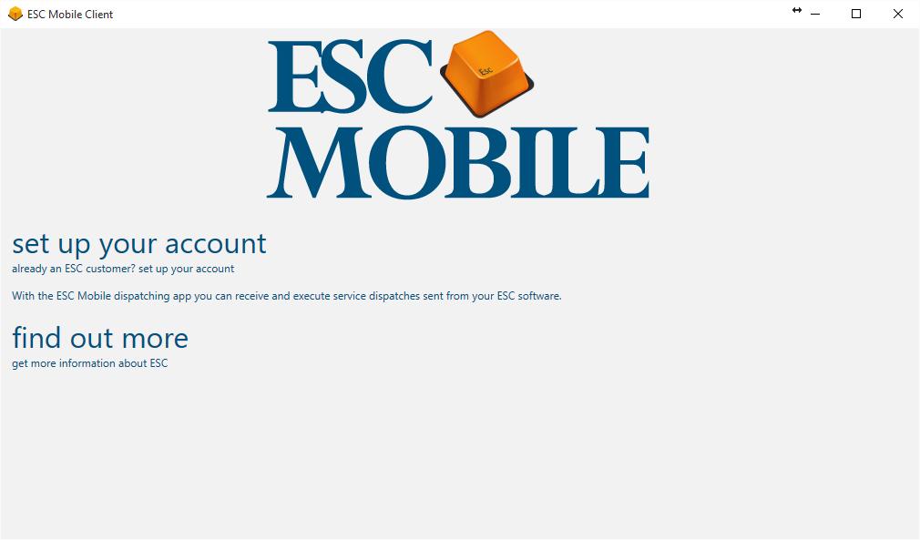 Add ESC Mobile for Windows to a Laptop – ESC