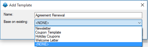 Managing Email and Word Processor Templates – dESCO Support