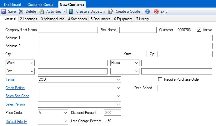 How Do I Create a Customer? – ESC