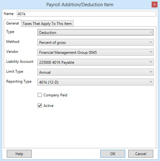 How To Enter Payroll Additions and Deductions in ESC